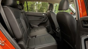 Volkswagen Tiguan Allspace - rear seats