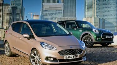 Ford Fiesta Vignale vs MINI Cooper 5dr header