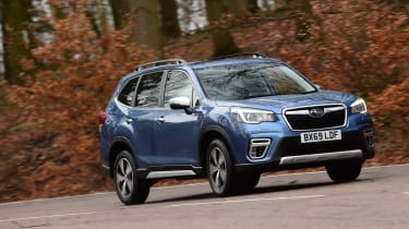 Subaru Forester 2020 in-depth review - front 3/4 static