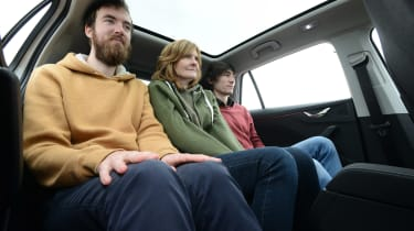 Skoda Scala - long termer back seats