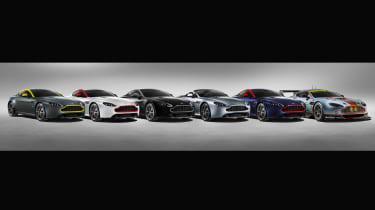 Aston Martin V8 Vantage N430 - line-up