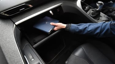 Peugeot 3008 long-term test - glovebox