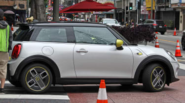MINI electric - spy shots - side