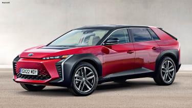Toyota BEV sketch