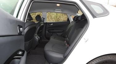 Kia Optima 2016 - rear seats