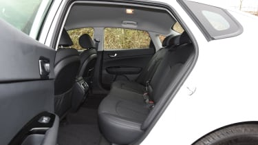 Kia Optima 2016 - rear seats