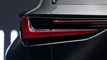 New Lexus NX leaked rear light
