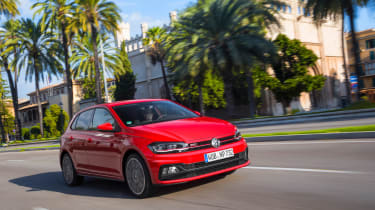 Volkswagen Polo GTI tracking