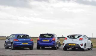 Hyundai Veloster vs rivals