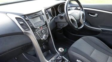 Used Hyundai i30 - cabin