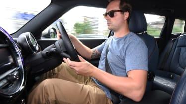 MINI Clubman long-term - second report otis driving