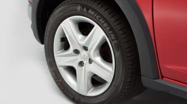 Used Dacia Sandero - wheel detail
