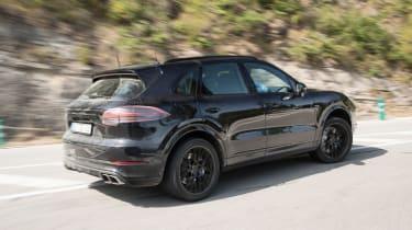 Porsche Cayenne prototype - side action