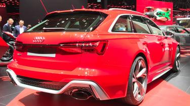 Audi RS 6 Avant - rear 3/4 static Frankfurt