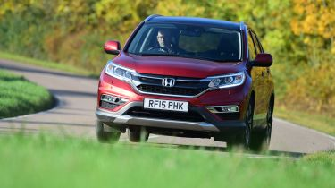 Honda CR-V long-termer action