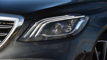 Mercedes S-Class - headlight