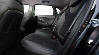 Hyundai i30 N - rear seats