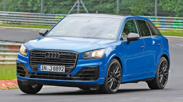 Audi SQ2 - spy shot