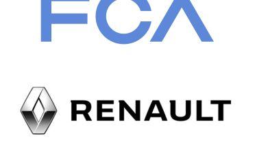 FCA Renault logos