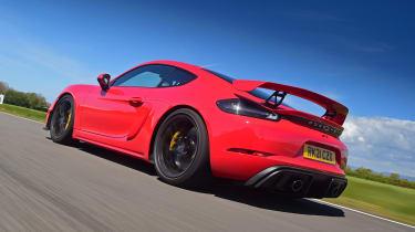 Porsche Cayman GT4 PDK - rear