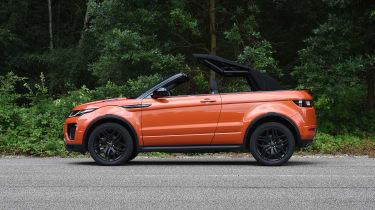 Range Rover Evoque Convertible - roof closing