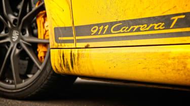 Porsche 911 Carrera T - side detail
