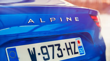 Alpine A110 - Alpine badge