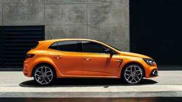 Renault Megane RS - side static