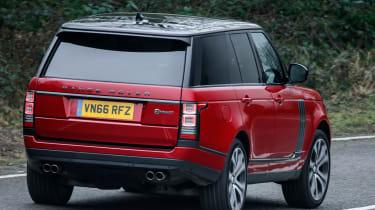 Range Rover SVAutobiography Dynamic 2017 - rear cornering