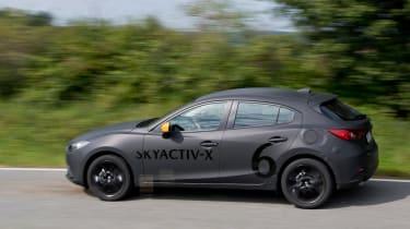 Mazda SKYACTIV-X prototype - side
