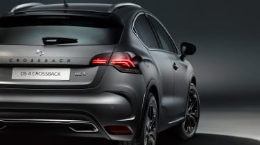DS 4 Crossback Moondust - rear