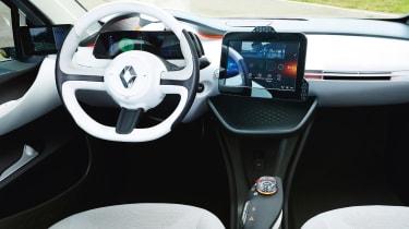 Renault EOLAB - dash