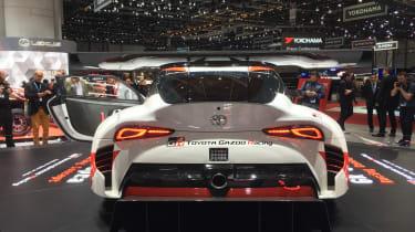 Toyota GR Supra concept Geneva 2018 back