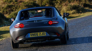 Mazda MX-5 RF 2017 1.5 UK - rear cornering