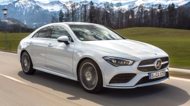 Mercedes CLA - front action