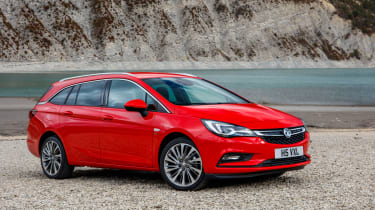 New Vauxhall Astra Sports Tourer - front quarter