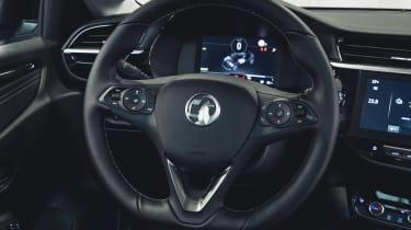 Vauxhall Corsa-e - steering wheel
