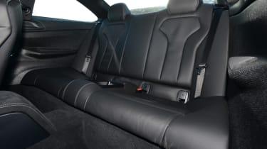 BMW M4 CS - rear seats