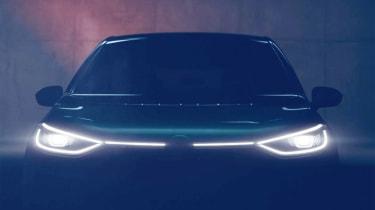 Volkswagen ID hatch teaser front