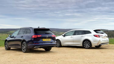 Volkswagen Golf Estate vs Toyota Corolla Touring