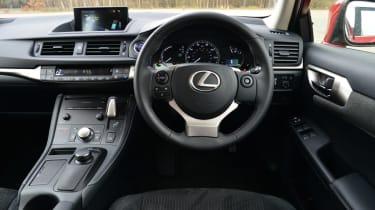 Lexus CT 200h dashboard