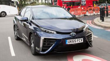 Toyota Mirai - front London