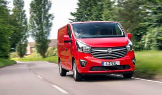Vauxhall Vivaro action
