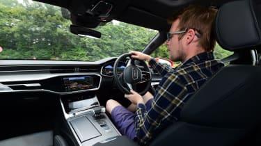 Audi A7 Sportback - driving