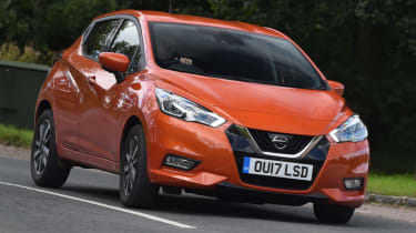 Nissan Micra - Front