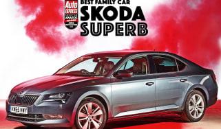 New Car Awards 2016: Family Car of the Year - Skoda Superb
