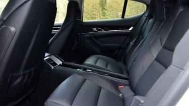 Porsche Panamera 2014 rear seats