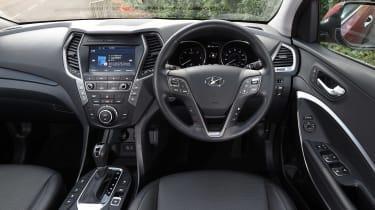Hyundai Santa Fe - dash