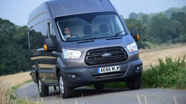 Ford Transit - front