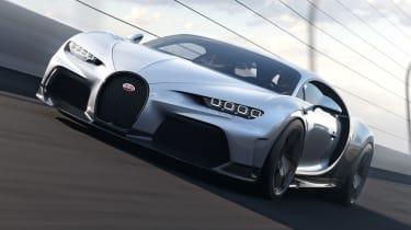 Bugatti Chiron Super Sport - front action